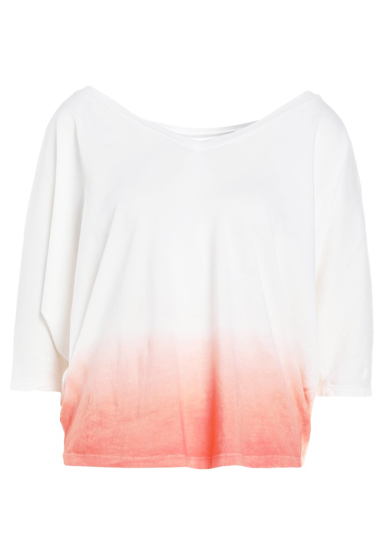 7 for all mankind CROPPED Tshirt basic coral beach - JS5L9230