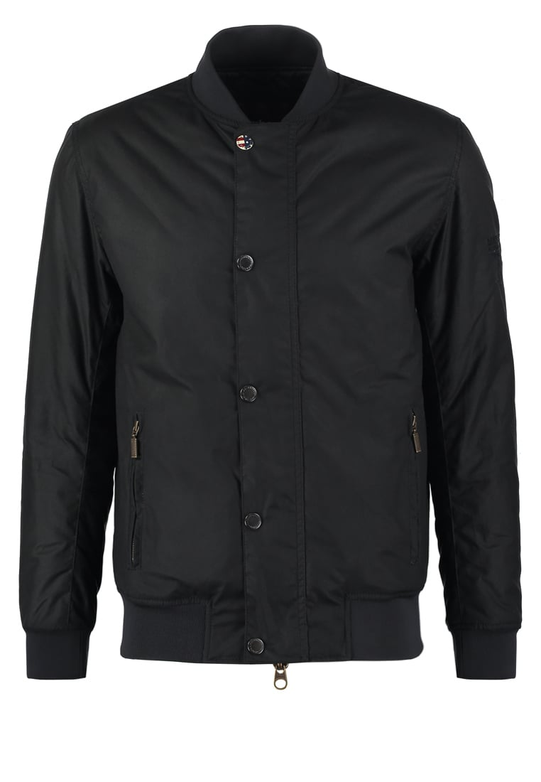 Barbour International™ BEECH Kurtka Bomber navy - MWX1092
