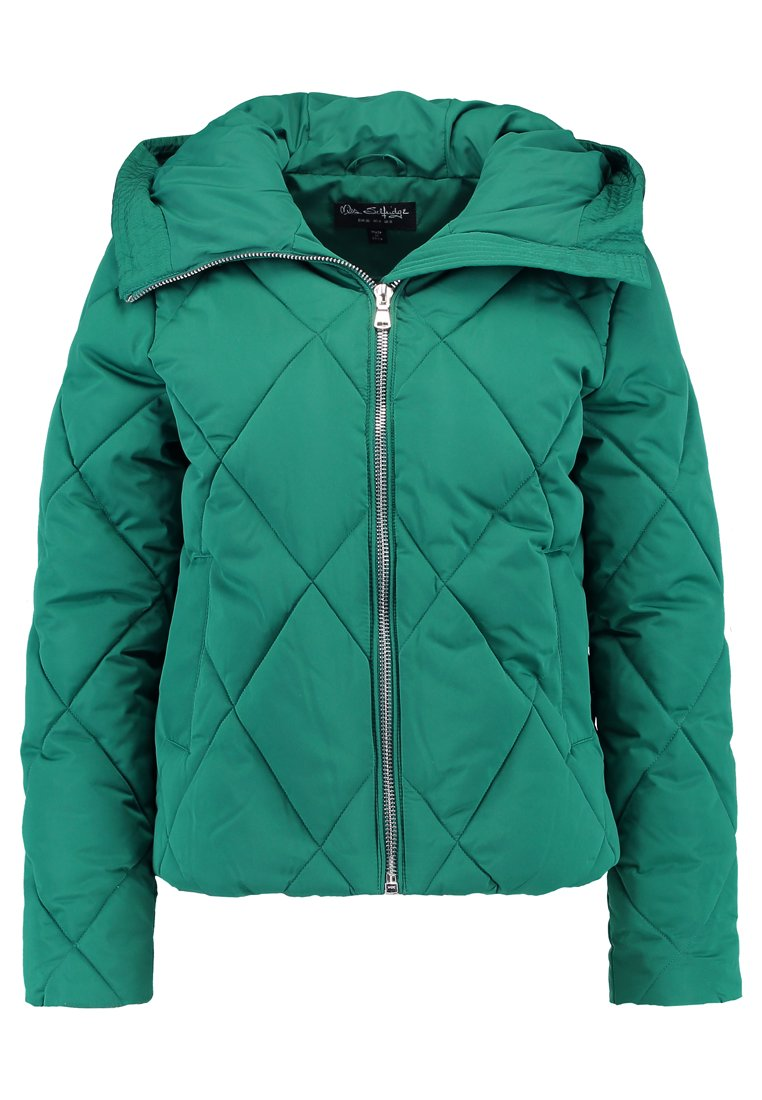 Miss Selfridge DIAMOND QUILTED Kurtka zimowa green