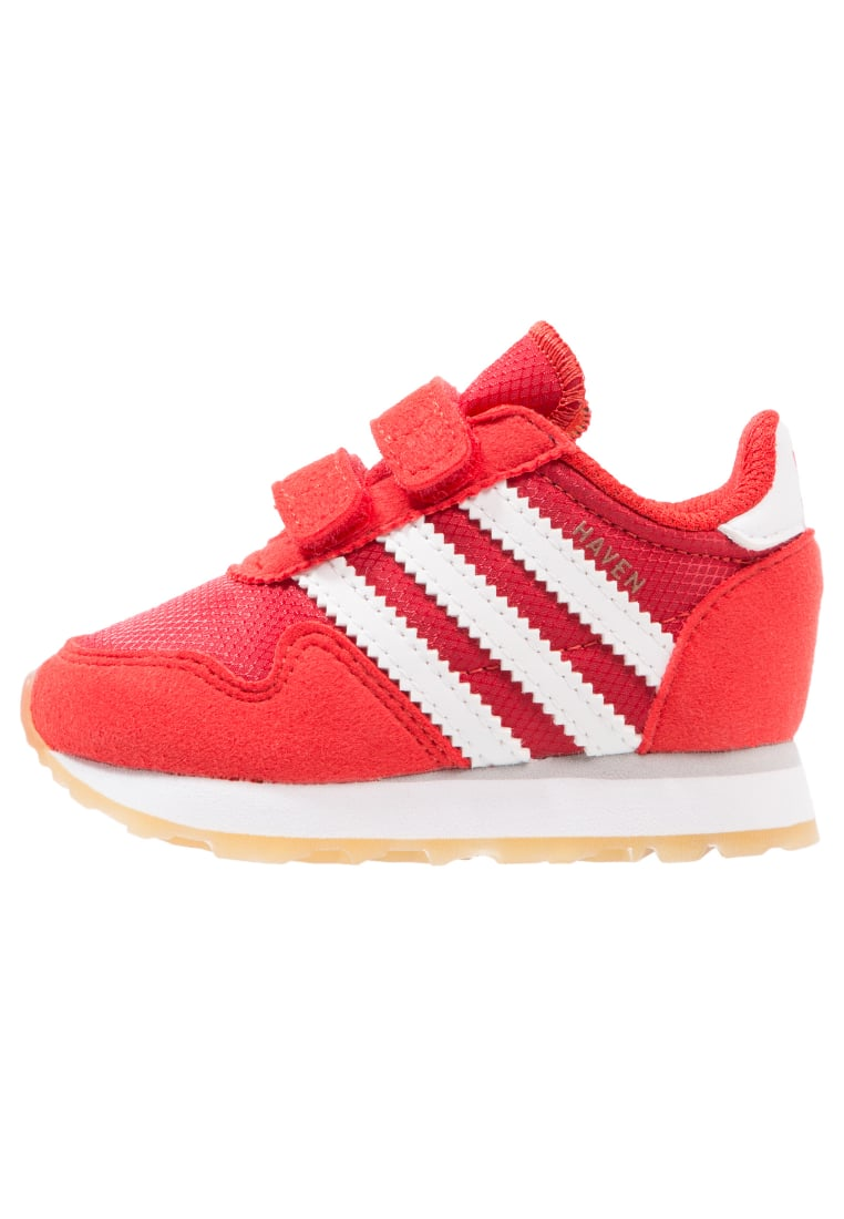 adidas Originals HAVEN CF Buty do nauki chodzenia red/footwear white - CEI79