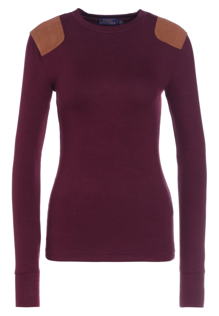 Polo Ralph Lauren Sweter autumn wine