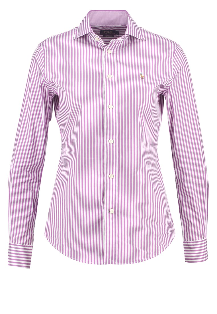 Polo Ralph Lauren KENDAL Koszula purple/white