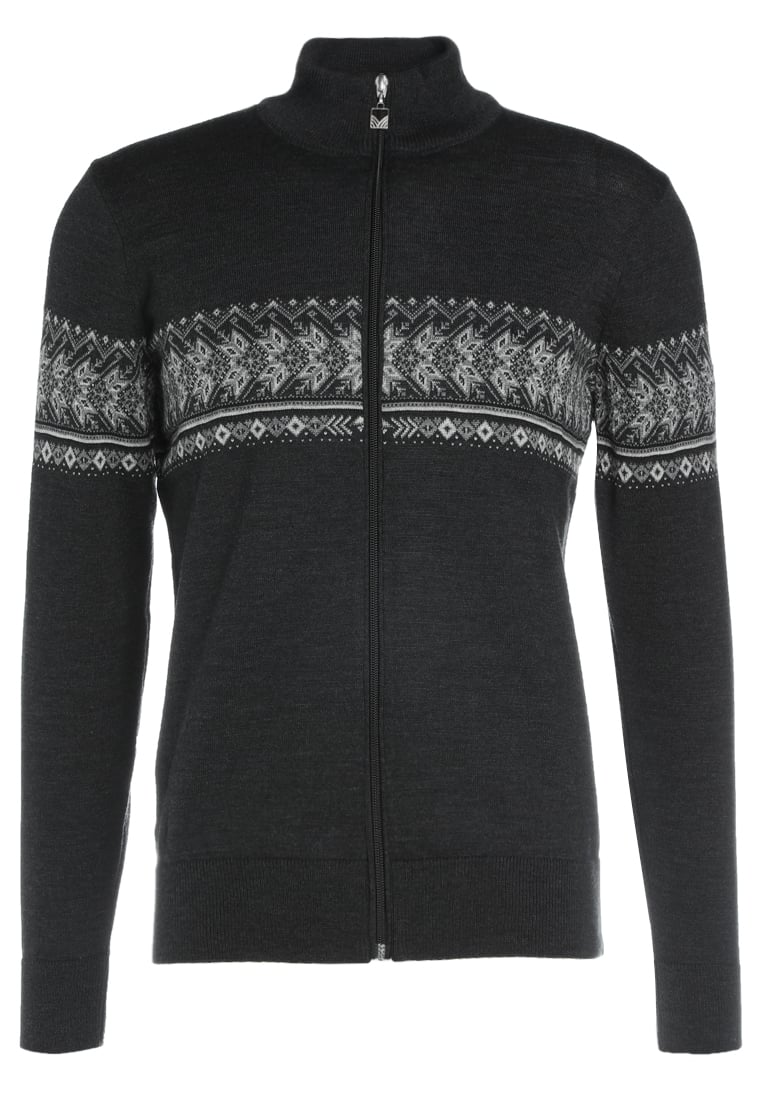 Dale of Norway HOVDEN MASCULINE Sweter dark charcoal/light charcoal/smoke/black - 83191