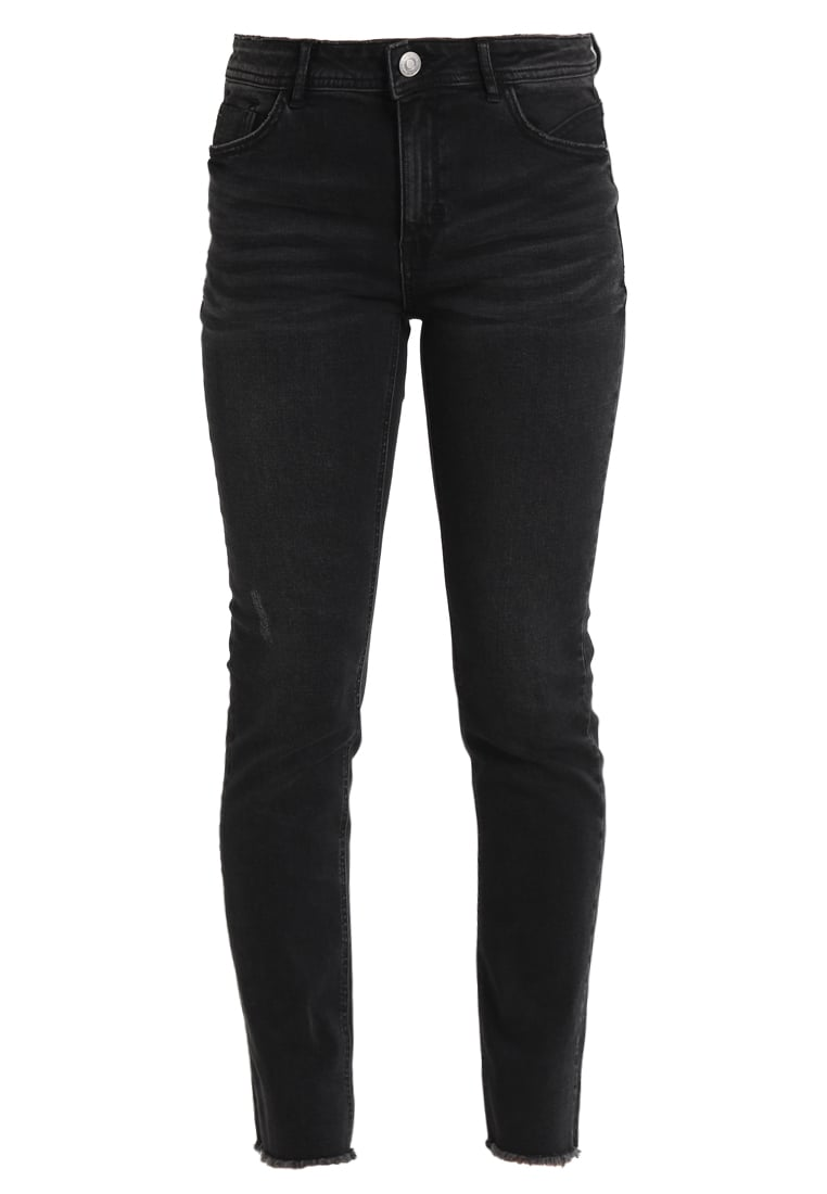 one more story Jeansy Slim fit black washed out - 100113
