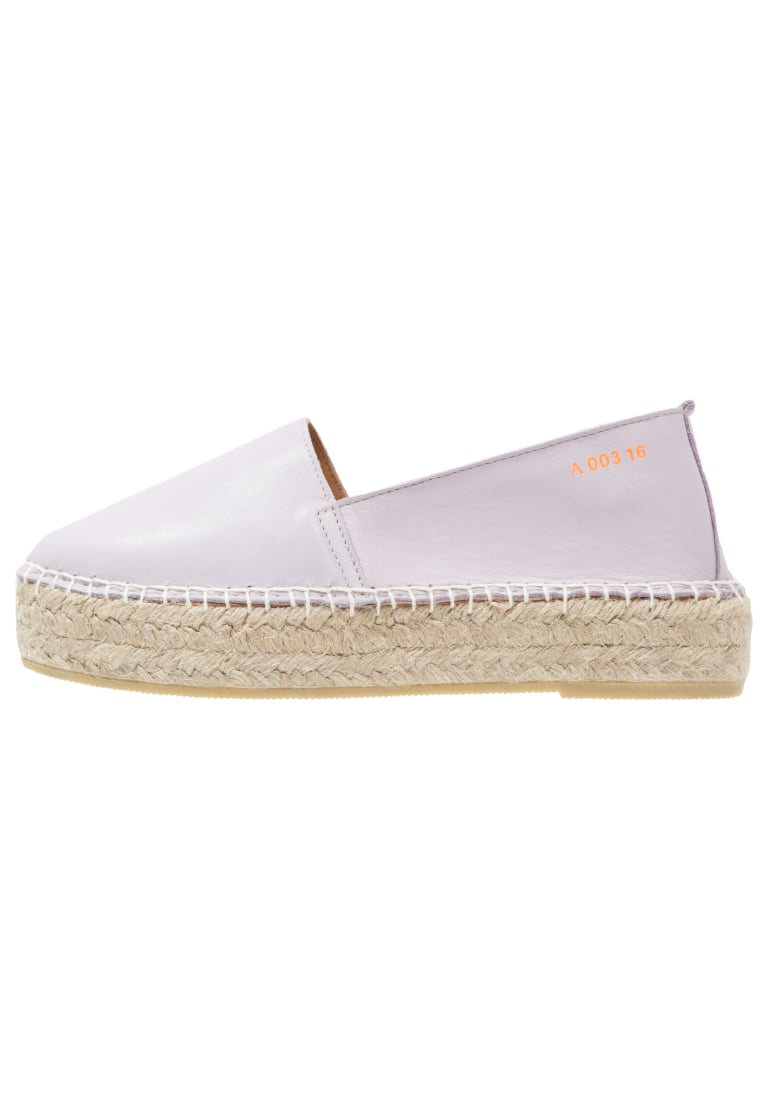Act. Series ARVEN Espadryle light purple - Arven Double Sole