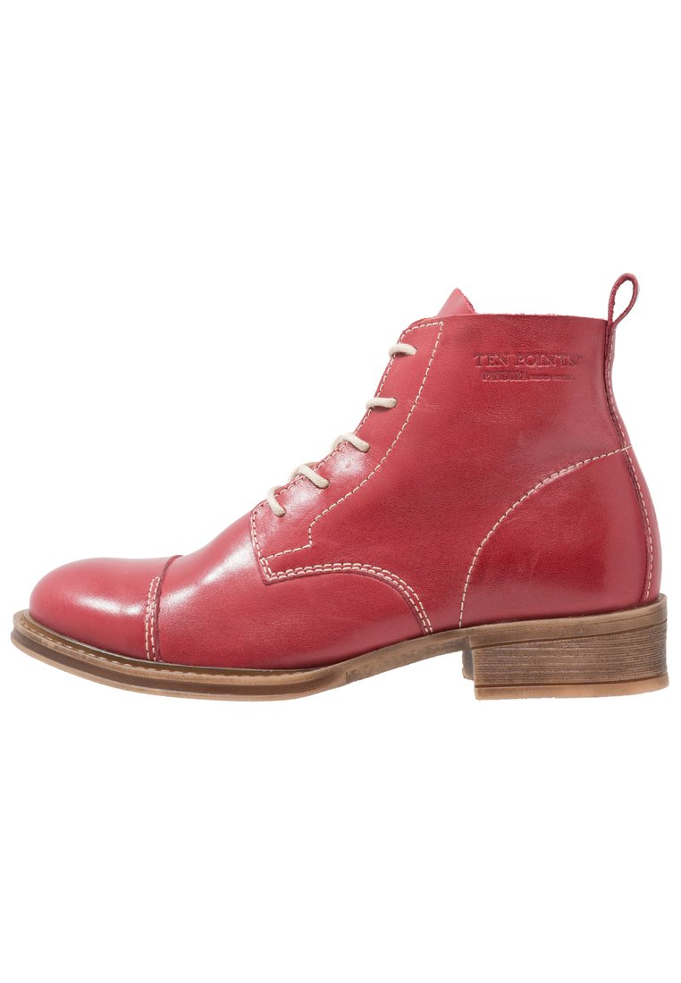 Ten Points Ankle boot red - 125001