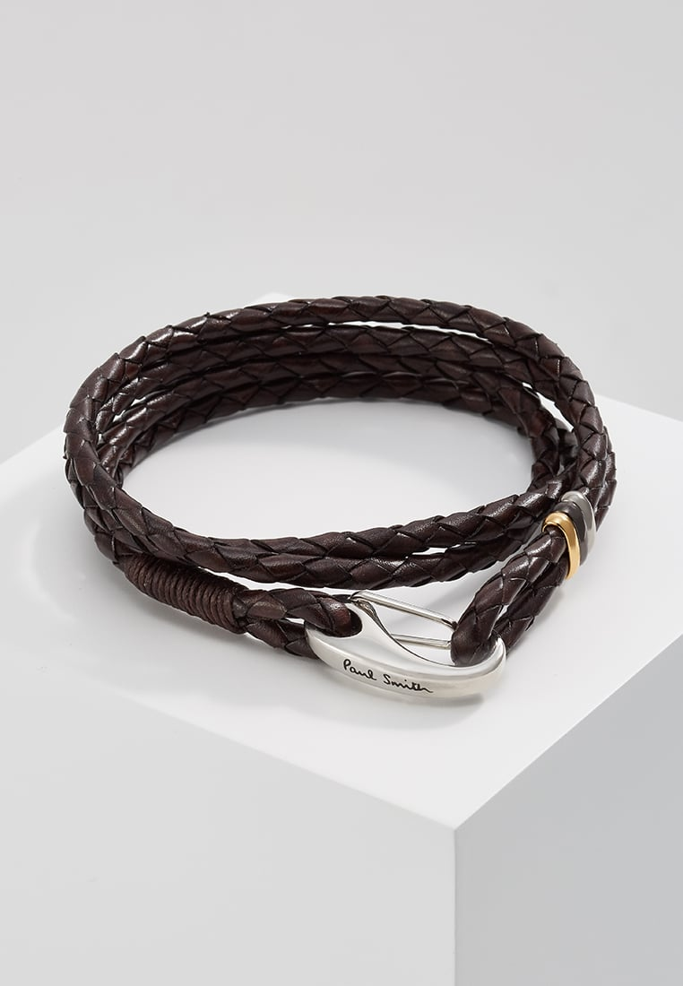 Paul Smith Bransoletka darkbrown - ATPCBracWrap