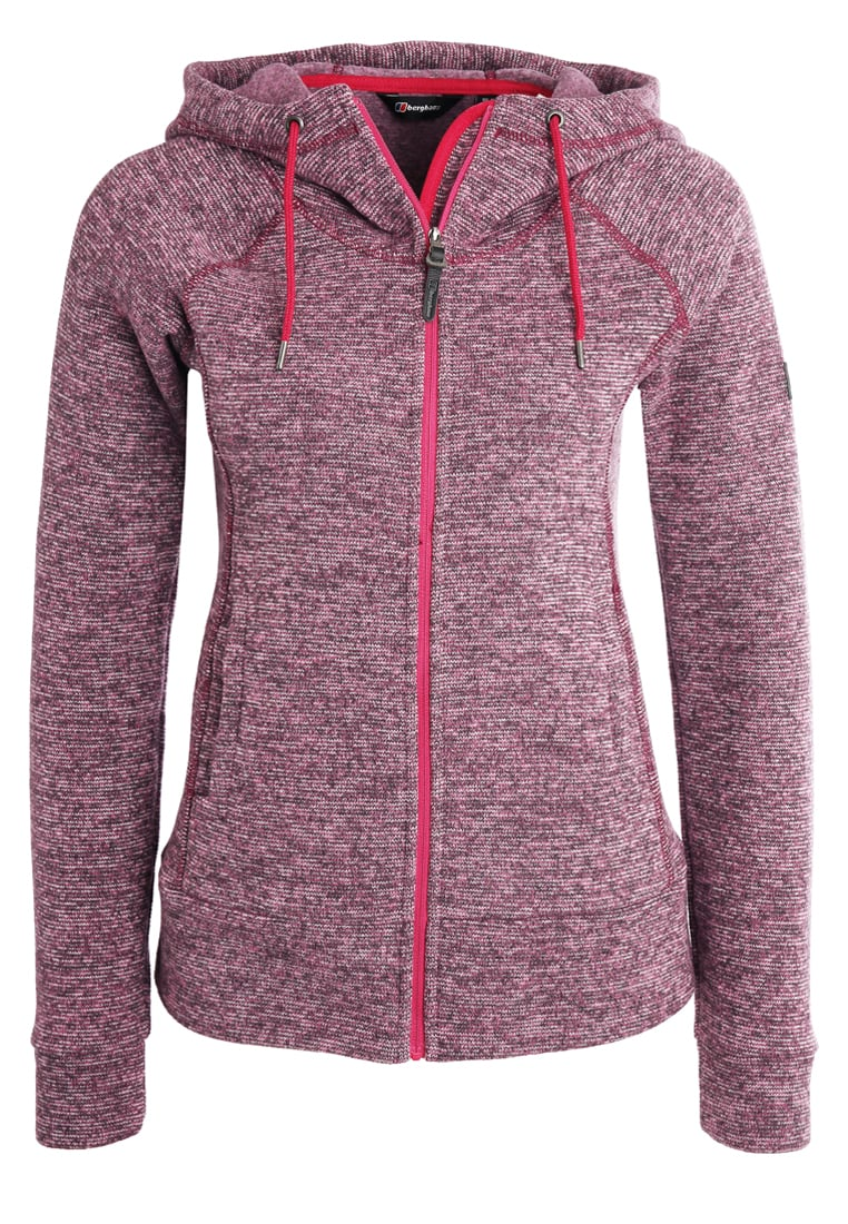 Berghaus EASTON Kurtka z polaru dark cerise marl - 21844