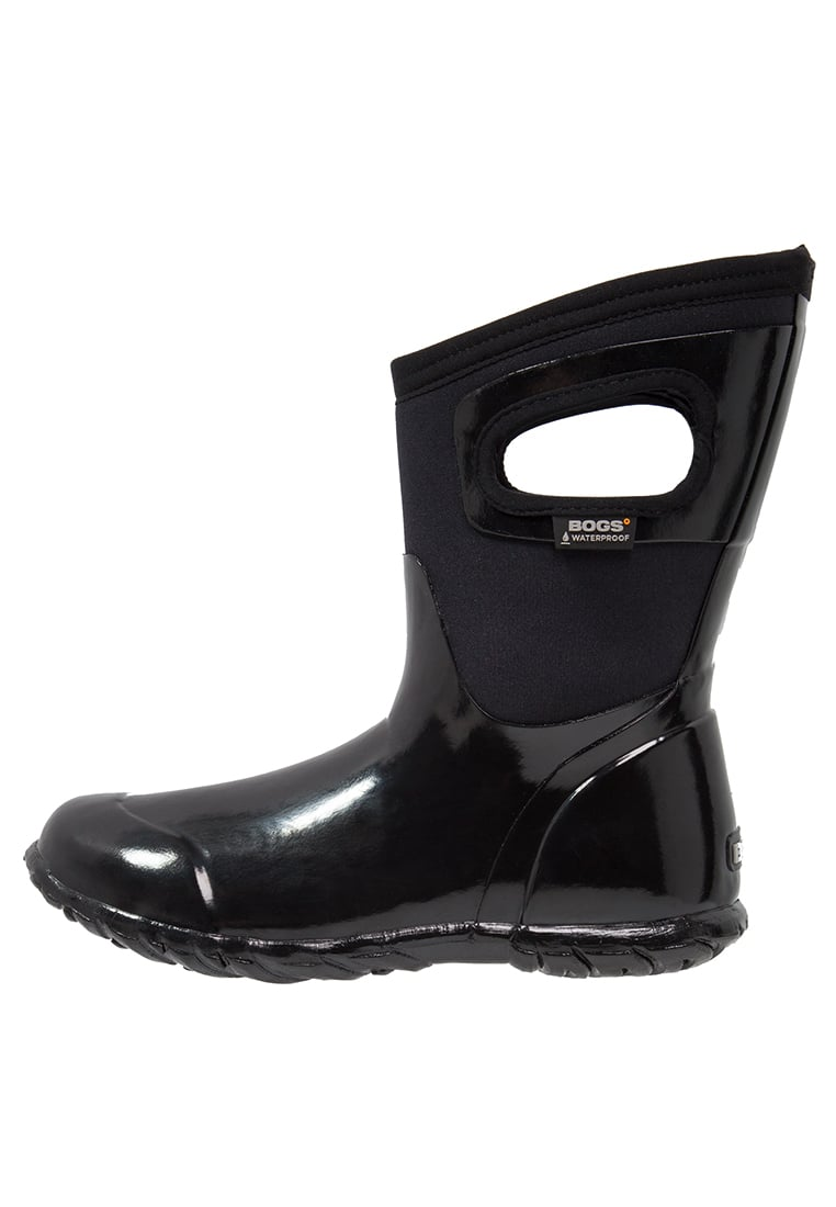 Bogs NORTH HAMPTON SOLID Kalosze black - 71782