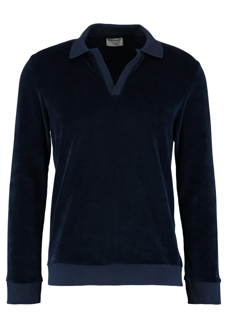 Editions MR TERRYCLOTH Bluza navy blue - 0621-T802-NAVY BLUE