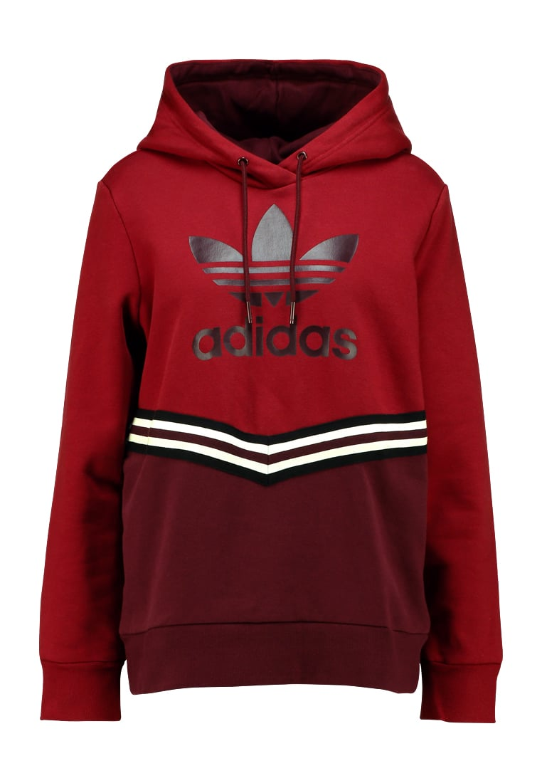 adidas Originals ADIBREAK Bluza z kapturem collegiate burgundy - ECS83