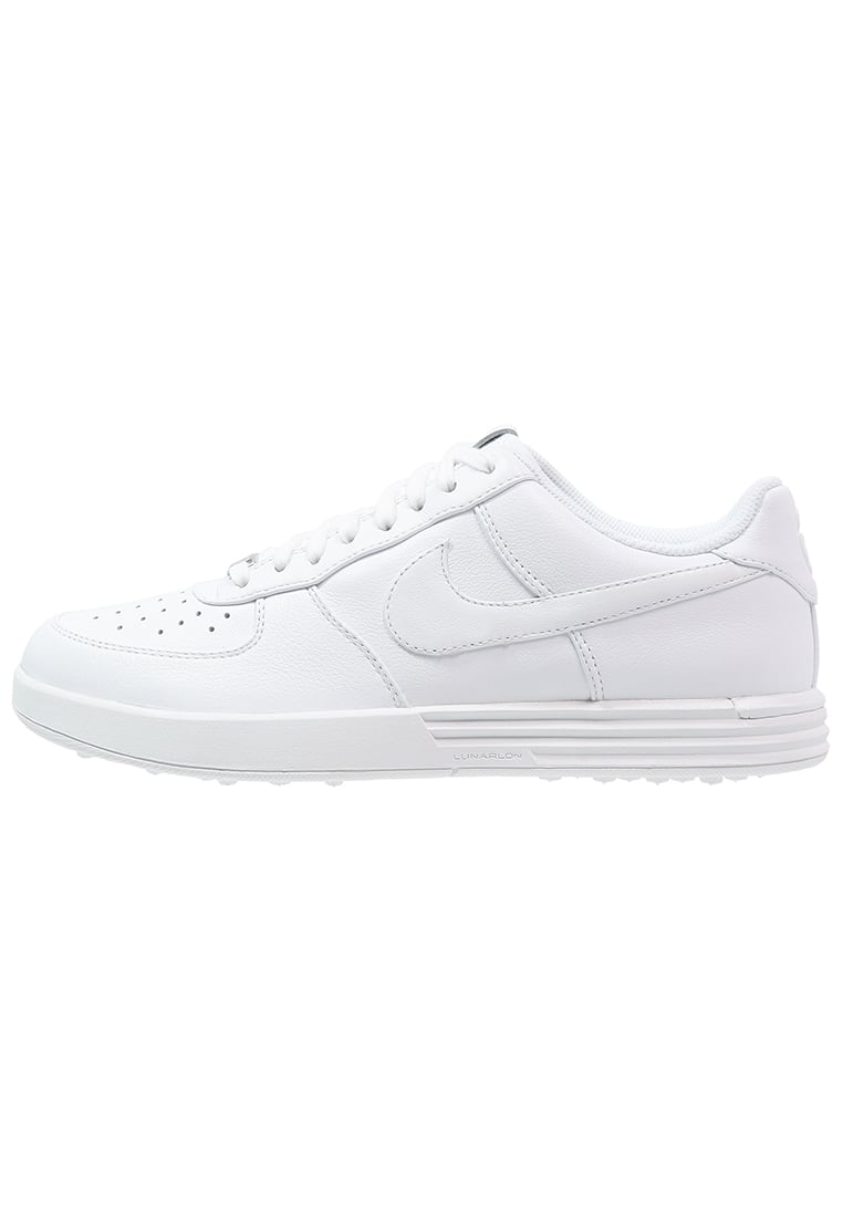 Nike Golf LUNAR FORCE 1 Buty do golfa white - 818726