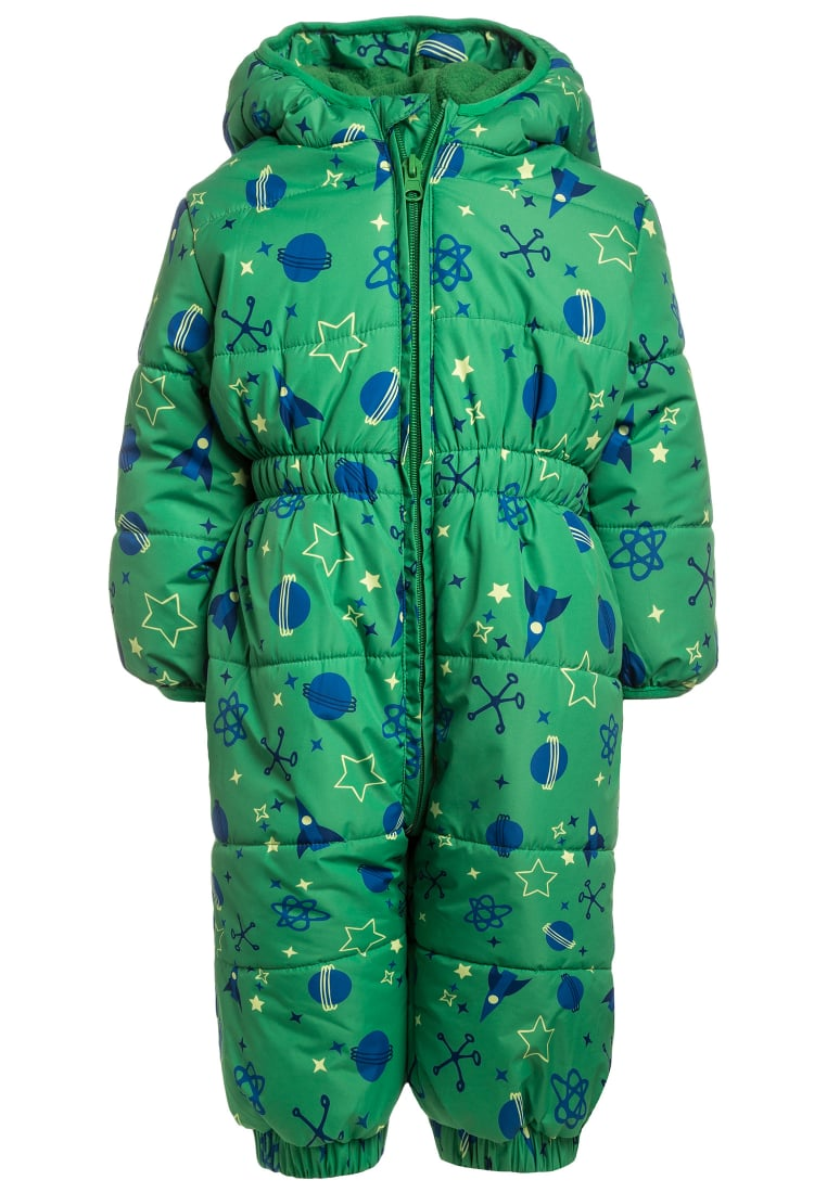 Jacky Baby FUNKTIONSSCHNEEOVERALL OUTDOOR BABY Kombinezon zimowy grün - 382771