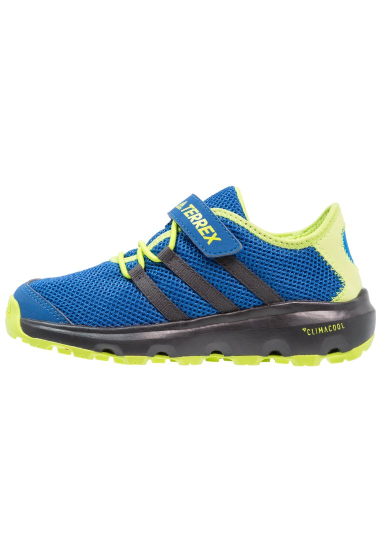 adidas Performance TERREX CC VOYAGER Buty hikingowe real teal/chalk white/solar slime - IJP75