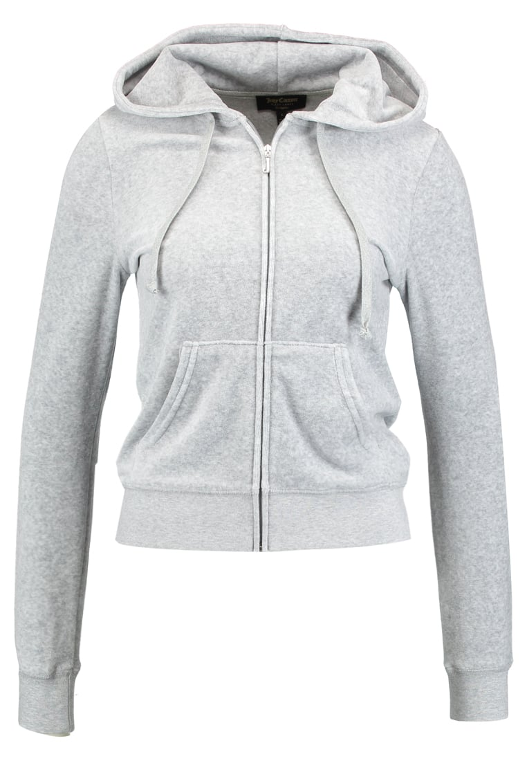 Juicy Couture ROBERTSON Bluza rozpinana light grey - WTKJ72760