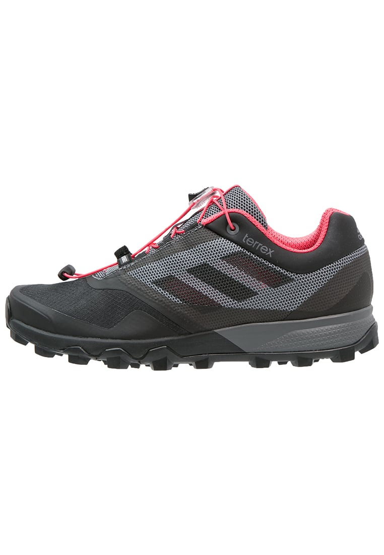 adidas Performance TERREX TRAILMAKER Półbuty trekkingowe vista grey/core black/super blush - KDA47