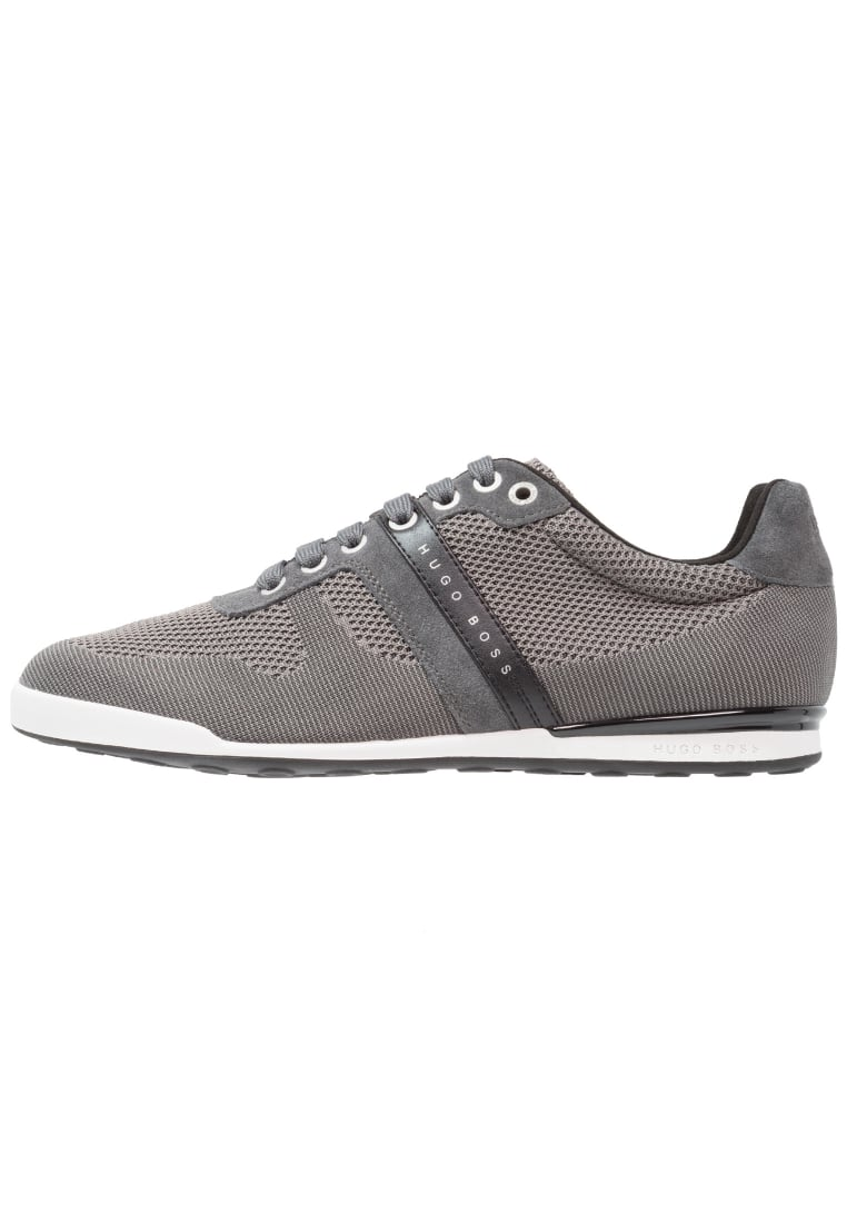 BOSS Green ARKANSAS Tenisówki i Trampki dark grey - 50327365