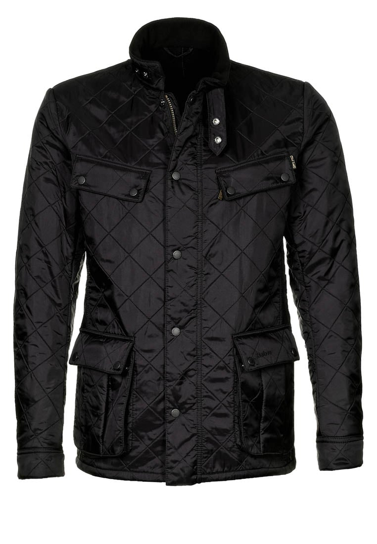Barbour International™ ARIEL POLARQUILT Kurtka zimowa black - MQU0365
