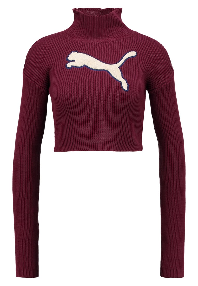 Fenty PUMA by Rihanna LOOSE TURTLENECK Sweter tawny port