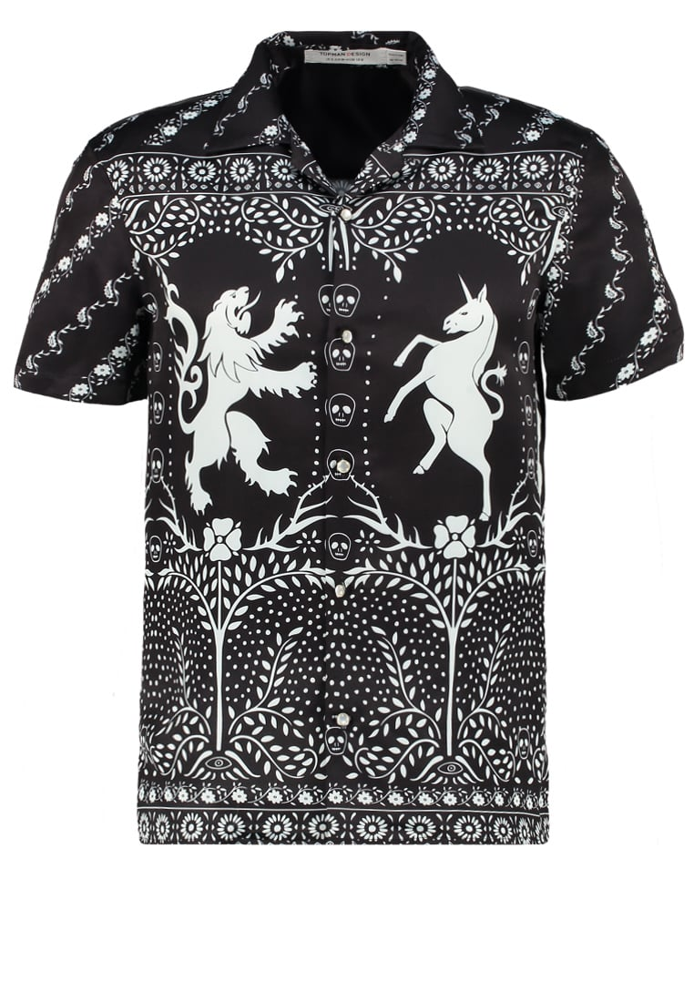 Topman Design PEARLY KING Koszula black - 79T17MBLK