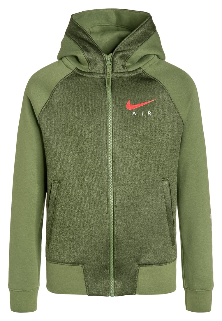 Nike Performance AIR Bluza rozpinana palm green - 832552