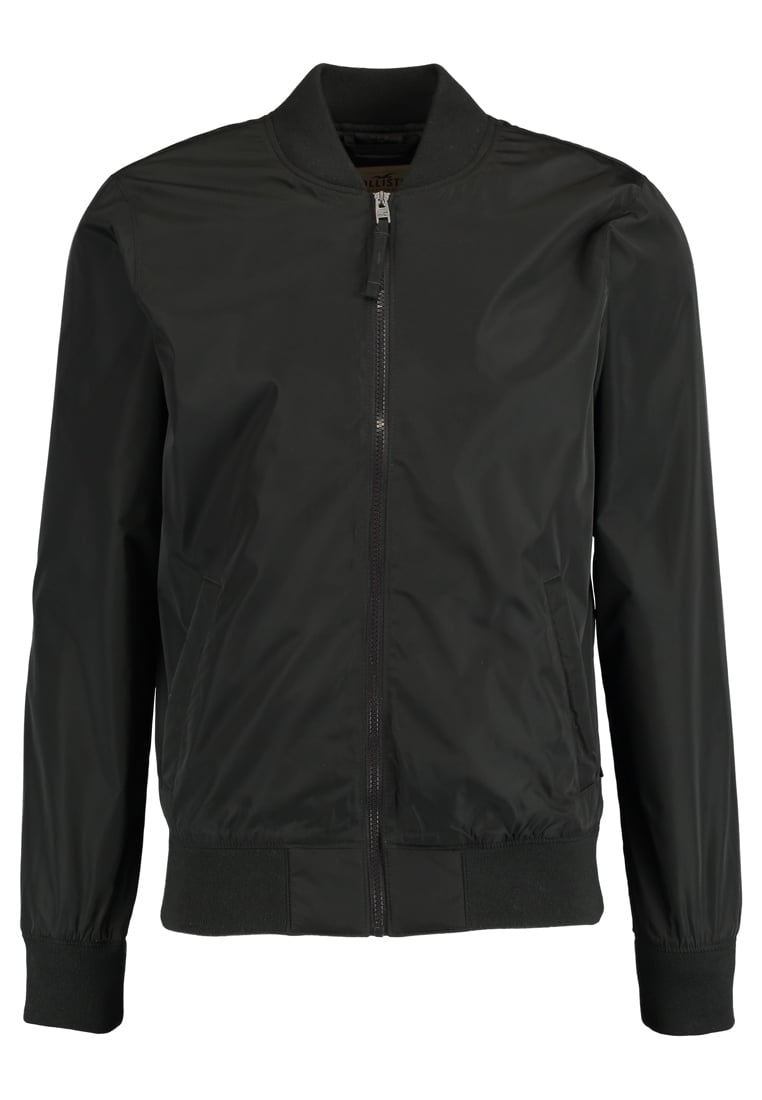 Hollister Co. BASIC Kurtka Bomber black - KI332-7620