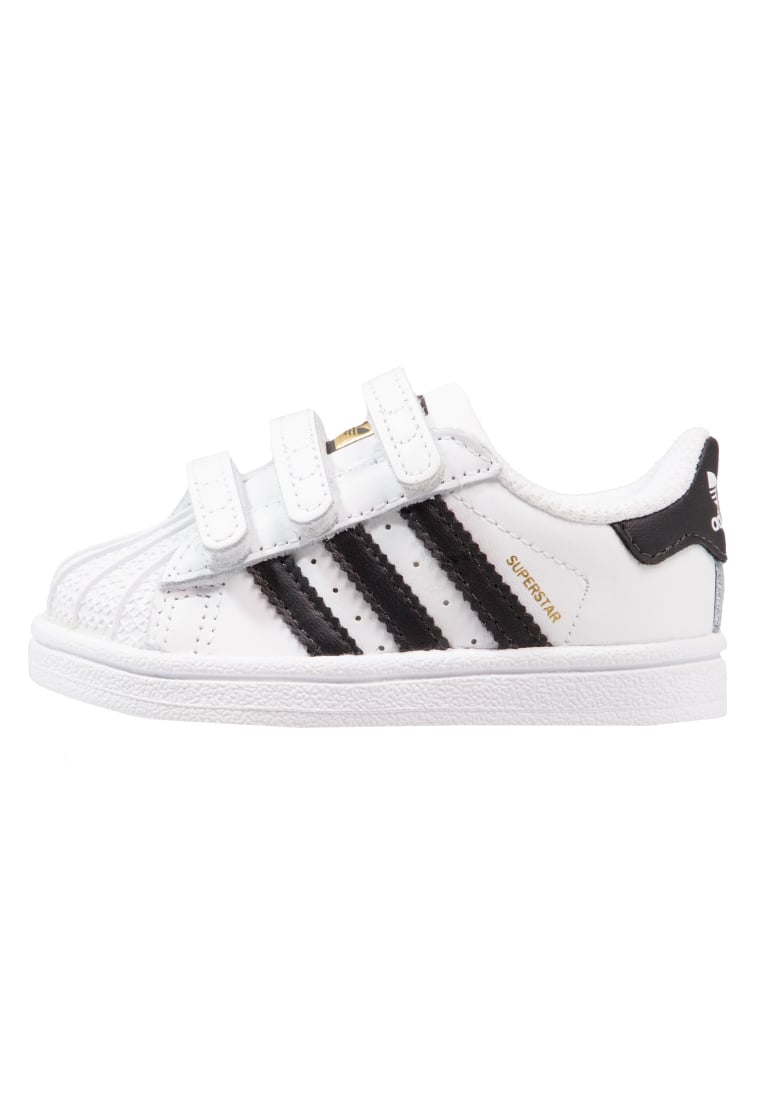 adidas Originals SUPERSTAR CF Buty do nauki chodzenia footwear white/core black - BEG01