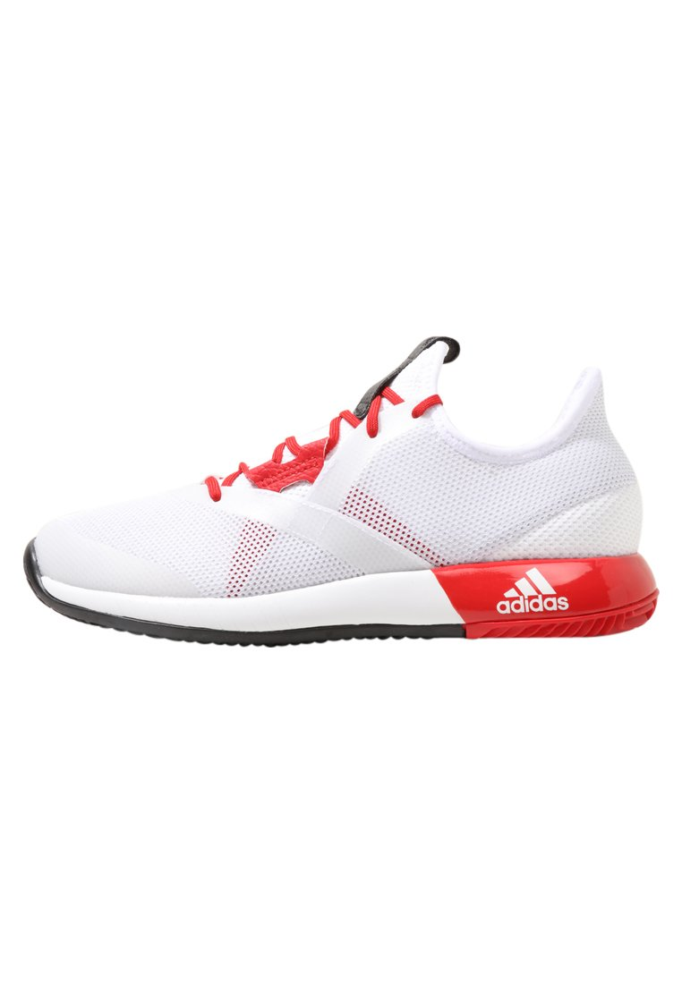 adidas Performance ADIZERO DEFIANT BOUNCE Buty do tenisa Outdoor white - CDE34