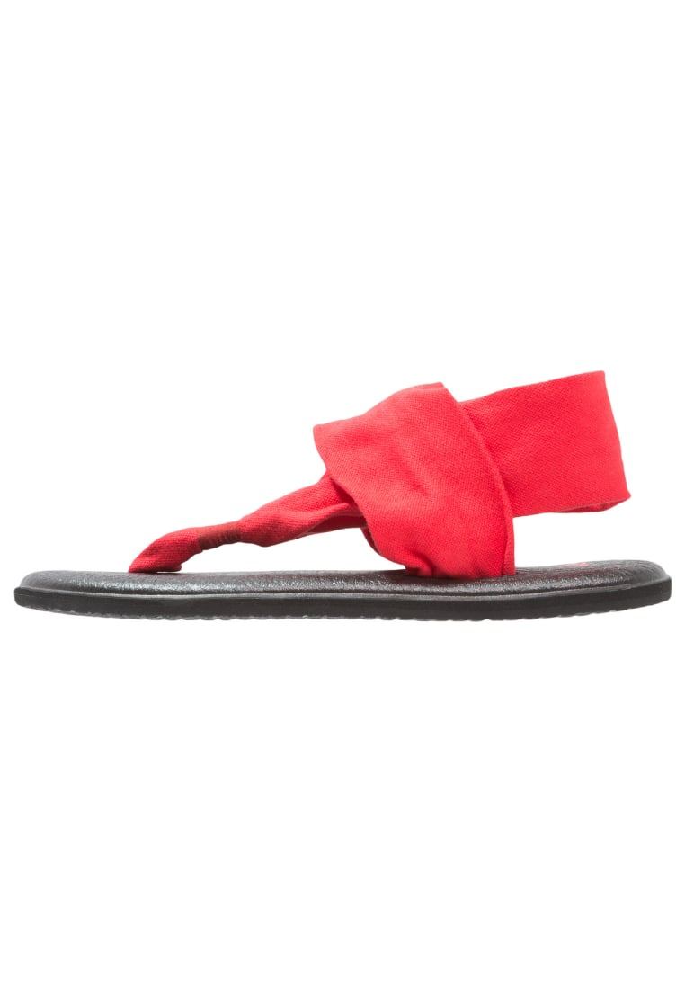 Sanuk YOGA 2 Japonki bright red - 29418380