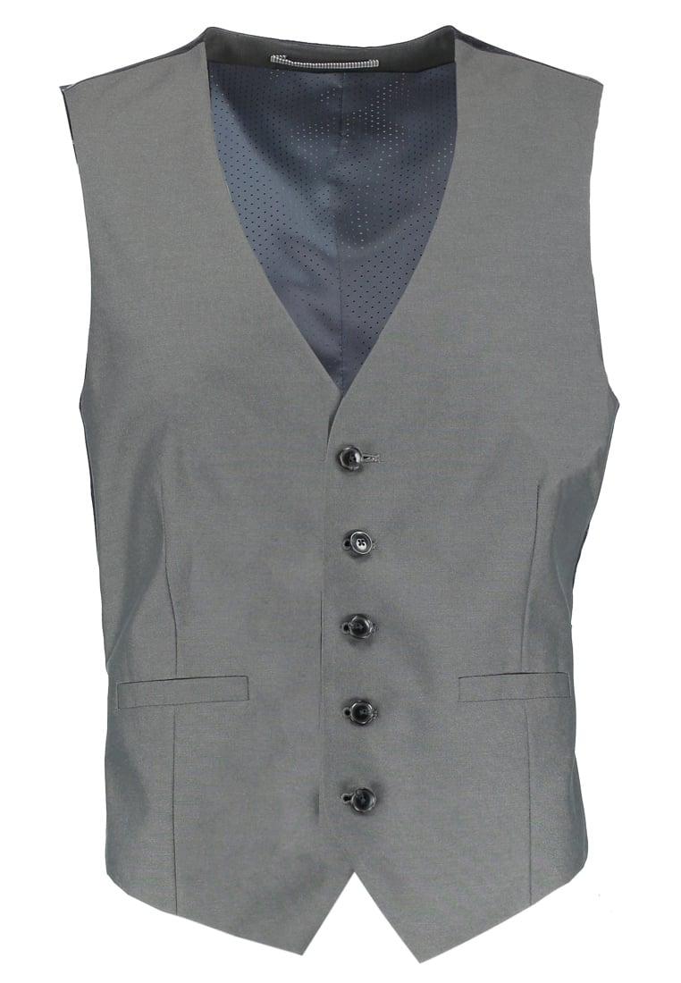 Burton Menswear London Kamizelka garniturowa grey - 02K21KGRY
