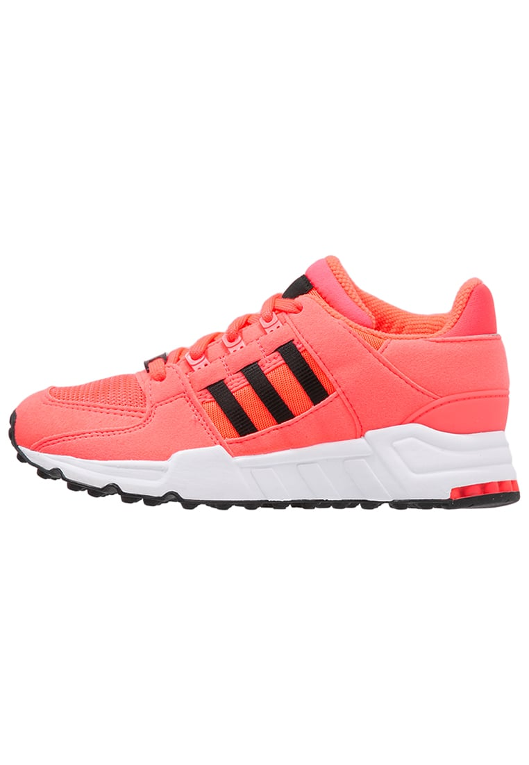 adidas Originals EQUIPMENT SUPPORT Tenisówki i Trampki turbo/core black/white - BEQ35