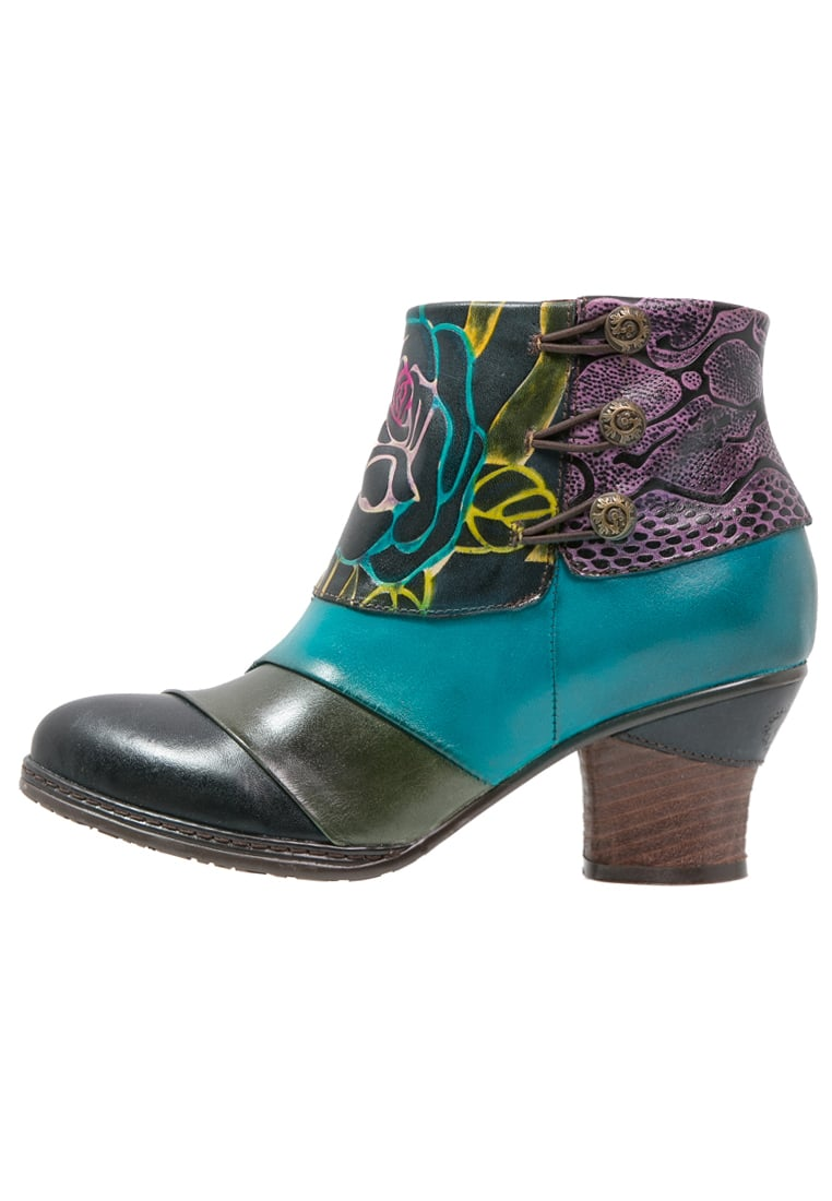 LAURA VITA ANDREE Ankle boot turquoise - ANDREE 06