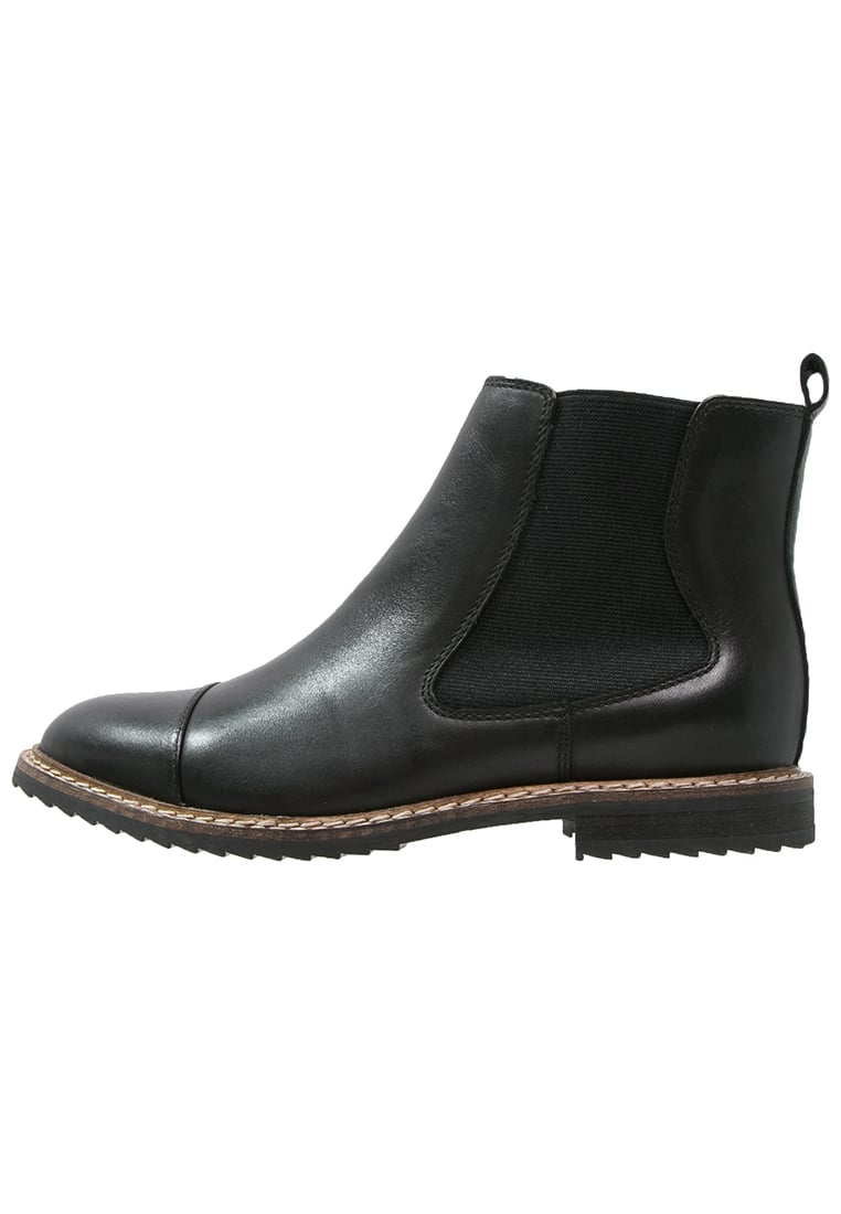 Pier One Ankle boot black - W16LG05