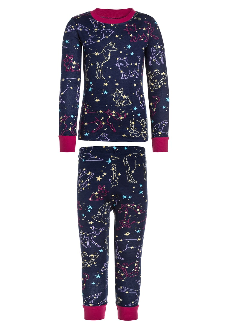 Hatley CUTE CONSTELLATIONS Piżama dark blue - PJASTAR