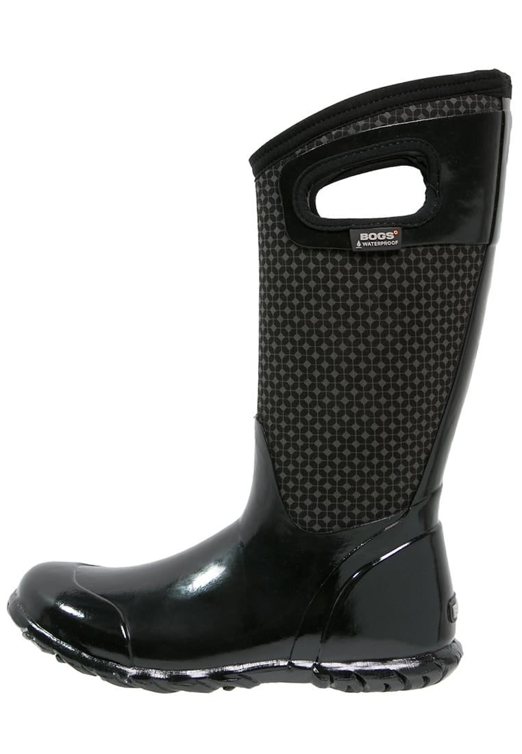 Bogs NORTH HAMPTON Kalosze black/multicolor - 72039