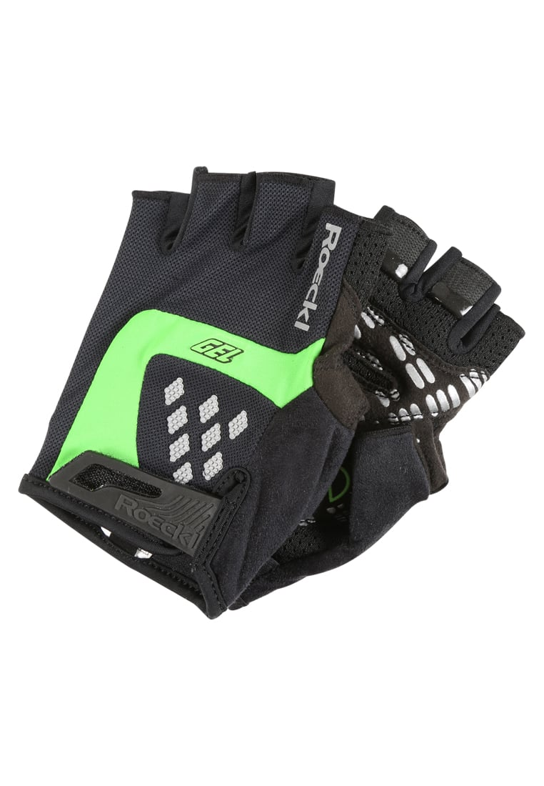 Roeckl Sports IDEGAWA Mitenki black/green - 3103-233
