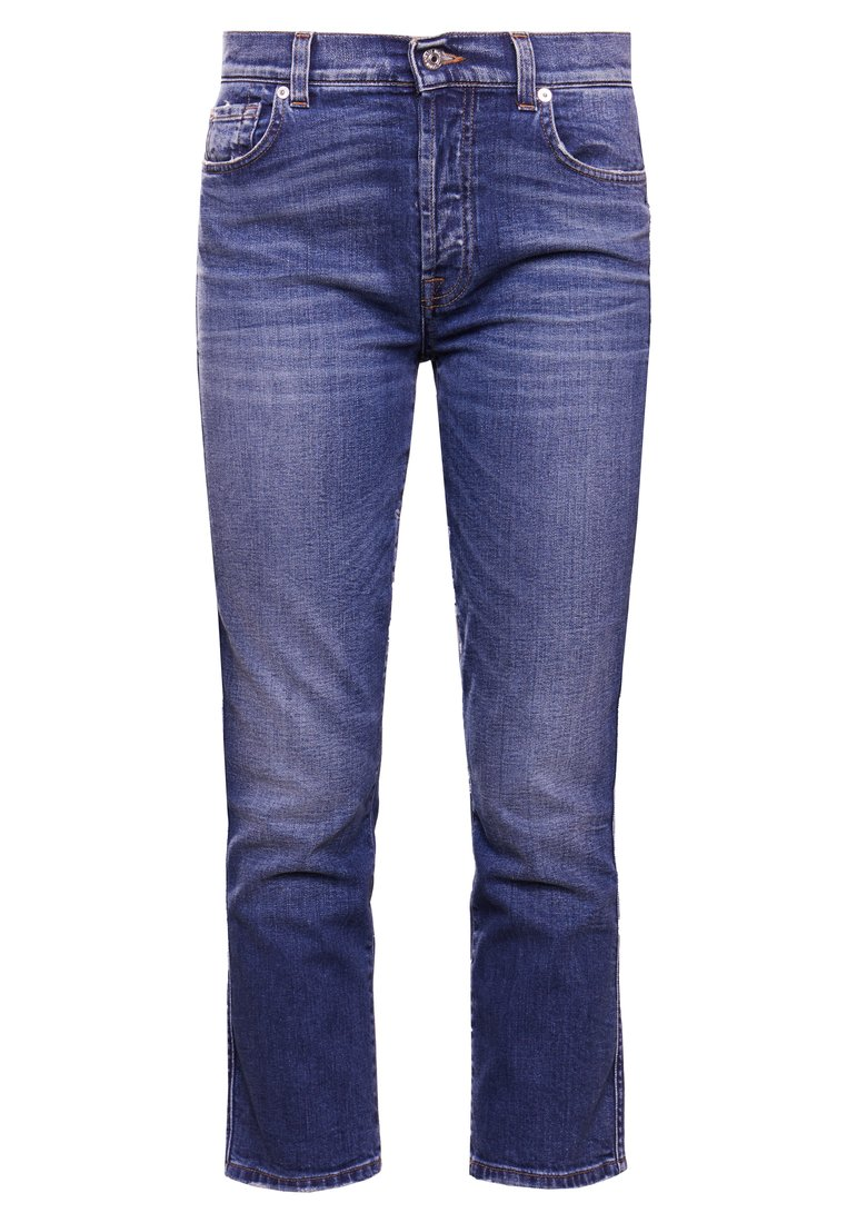 7 for all mankind EDIE Jeansy Straight Leg harbour - JSZ2K730
