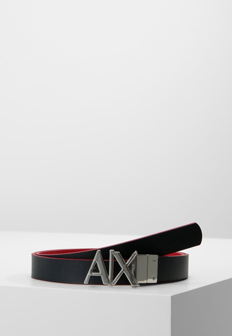 Armani Exchange Pasek royal red/navy - CC702