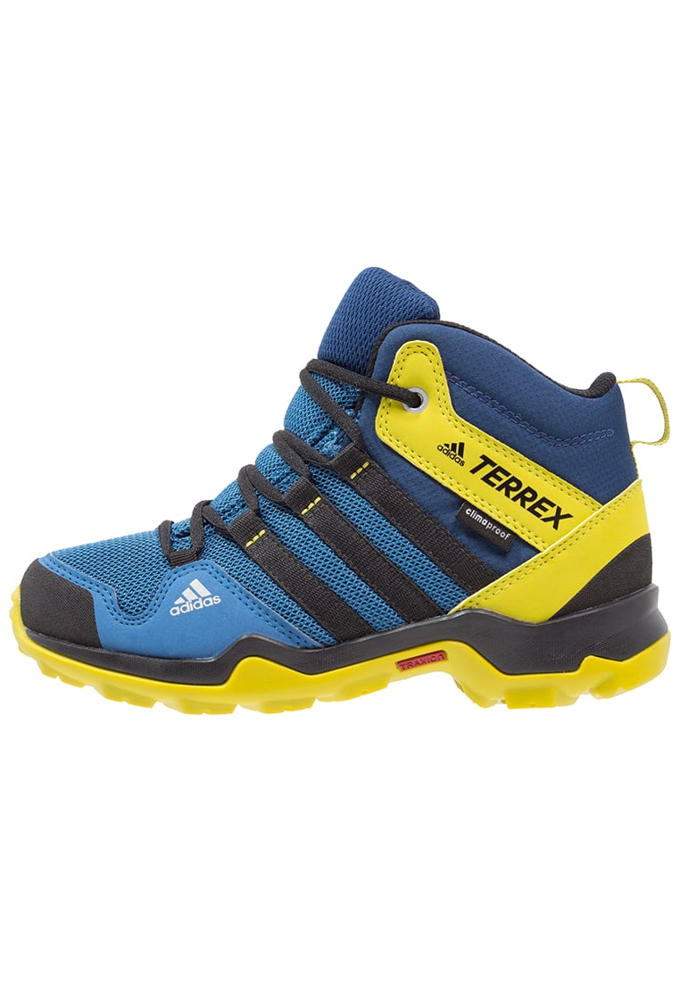 adidas Performance TERREX AX2R CP Buty trekkingowe core blue/unity lime - IJP74