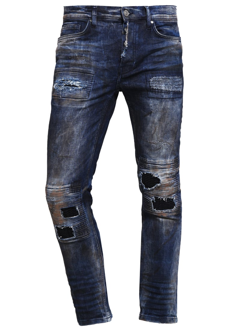 Tigha CLYDE Jeansy Slim fit ophantic blue - Clyde