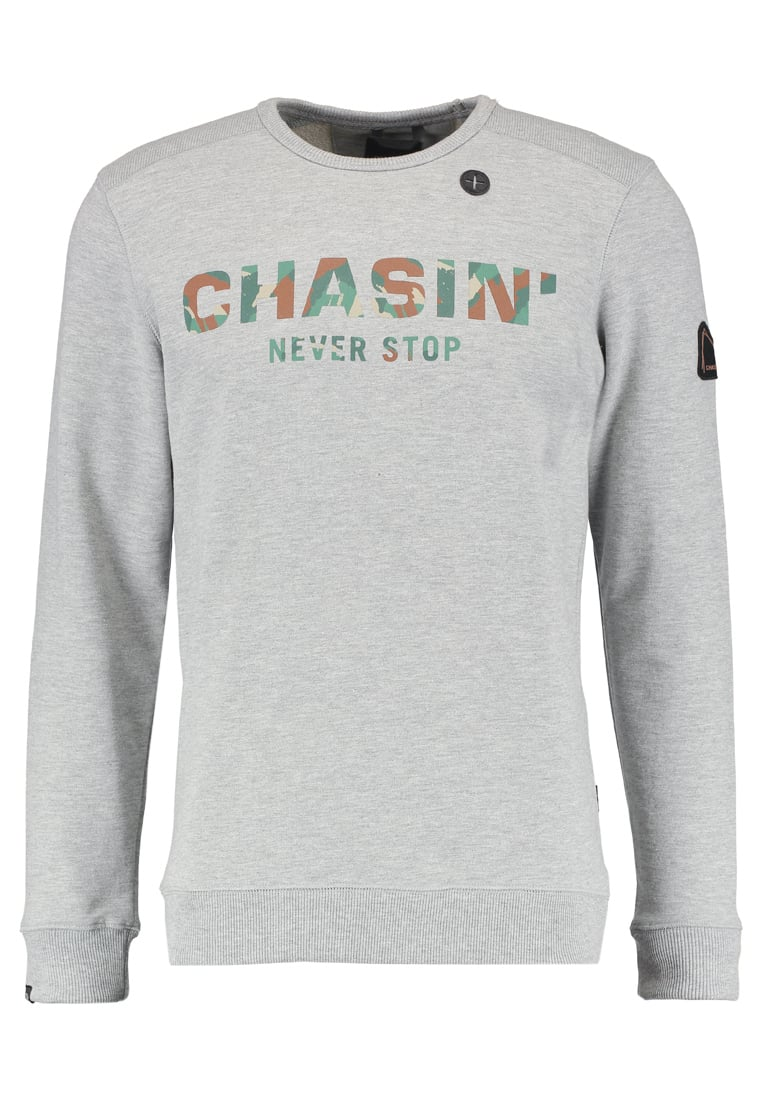Chasin' LOW Bluza grey melange - 4111219107
