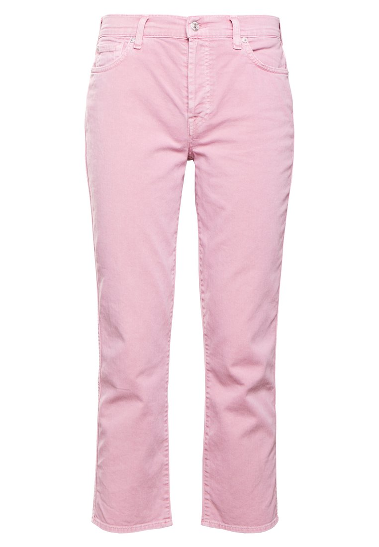 7 for all mankind EDIE Jeansy Straight Leg ice dye pink - JSZ2V380