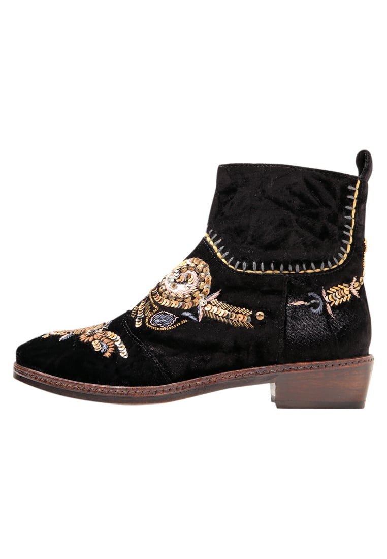 Coral Blue TEXAN BOOT Botki black - CB.K317.14
