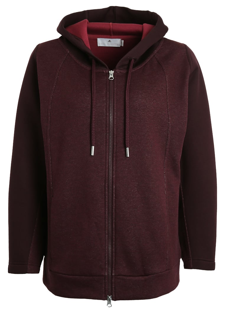adidas by Stella McCartney Bluza rozpinana bordeaux - DST09