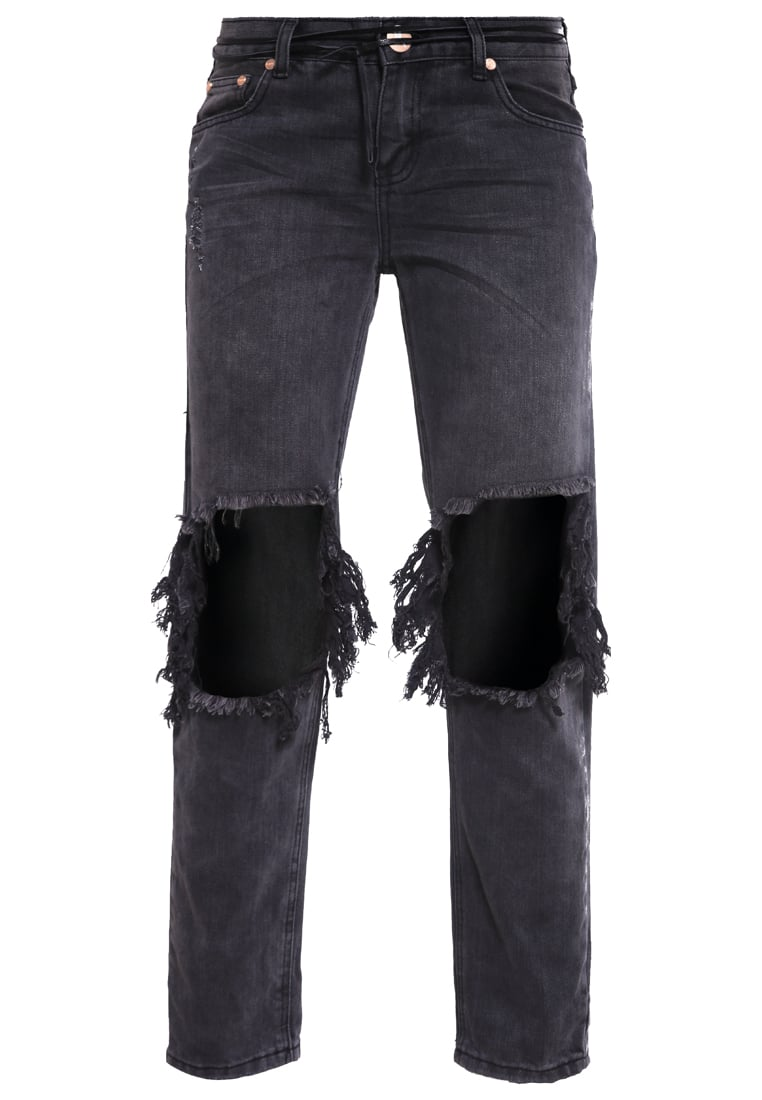 One Teaspoon AWESOME Jeansy Relaxed fit baslat black - 18225A