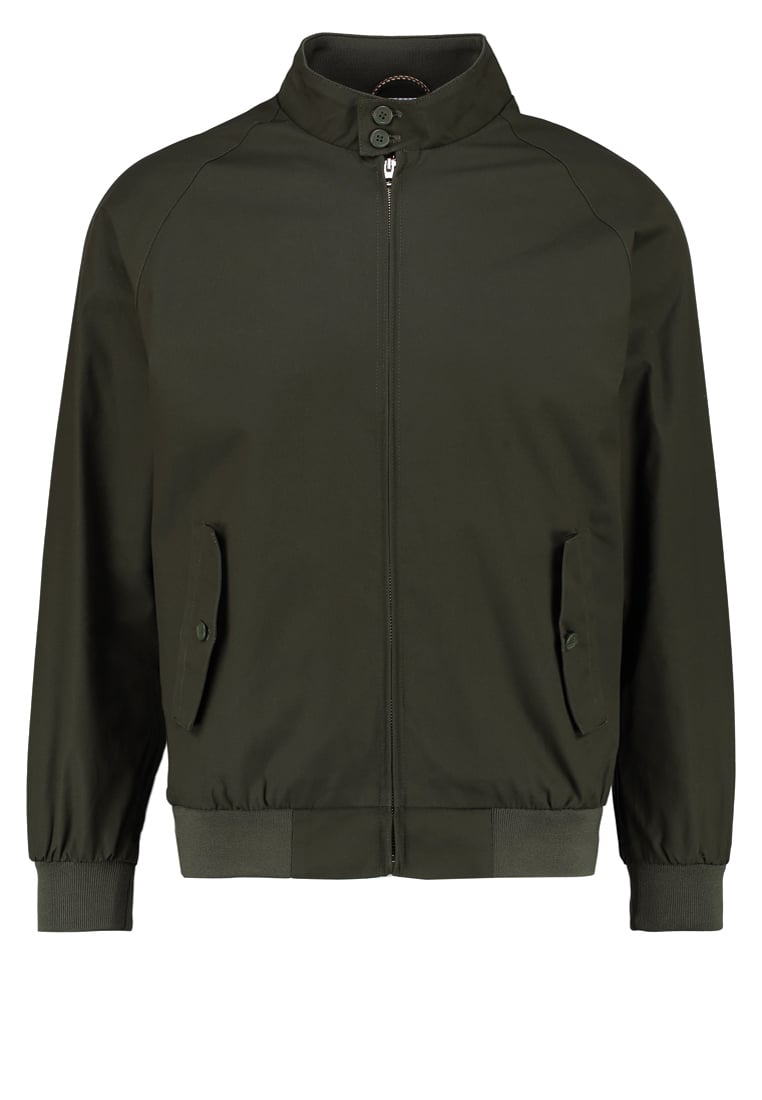 Knowledge Cotton Apparel CATALINA Kurtka Bomber forrest night - 92255