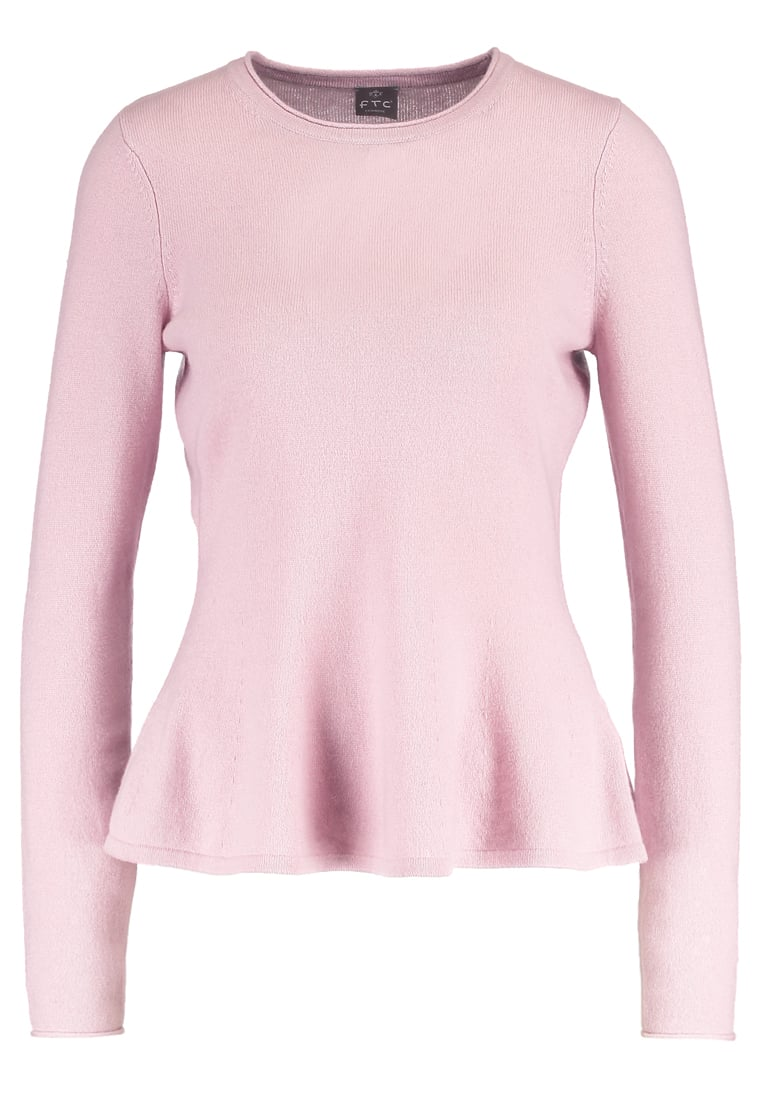 FTC Cashmere Sweter crystal pink