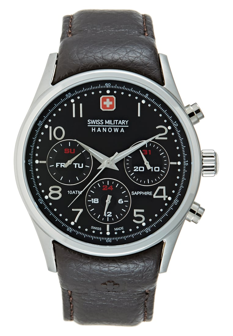 Swiss Military Hanowa NAVALUS Zegarek darkbrown - 06-4278.04.007
