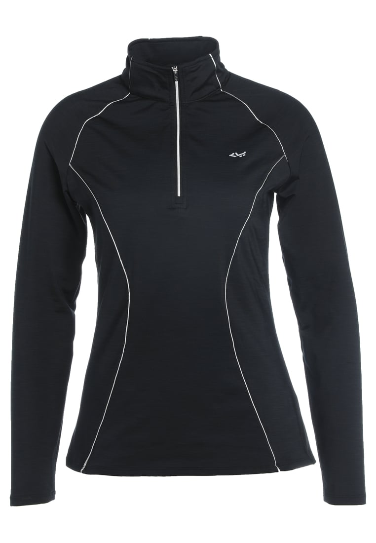 Röhnisch KEEP WARM HALF ZIP Bluza black - 243212