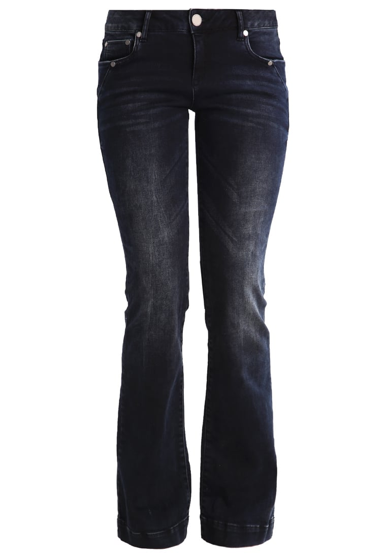 Betty & Co Jeansy Bootcut deep blue denim - 3121/9433